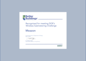 meazon success submetering challenge