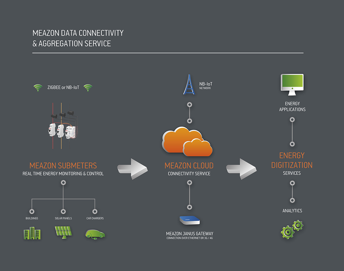 Meazon Products IoT infographic