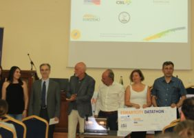 Meazon was honoured with the 2nd prize in the Esmartcity.MED Datathon