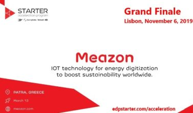 Meazon among the 9 finalists at EDP Starter's Acceleration Program